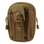 Outdoor Sports Running Camping Hiking Belt Bag Waist Bag Pouch - Brown