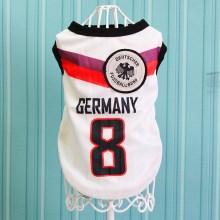 Size: 6XL / White Number 8 Germany