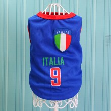 Size: 5XL / Blue Number 9 Italia