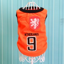 Size: 4XL / Orange Number 9 Netherlands
