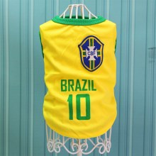 Size: 3XL / Yellow Number 10 Brazil