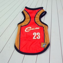 Size: 3XL / Red and Brown Number 23 Cleveland