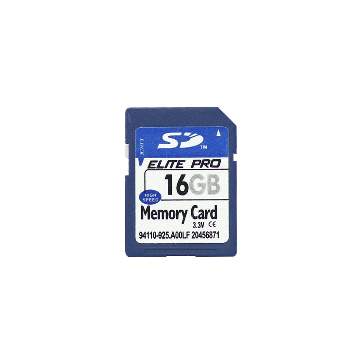 New 16GB Secure Digital High-Capacity (SDHC) Flash Memory Card