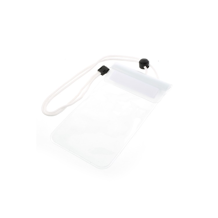 White Waterproof Dry Bag Case for iPhone Samsung Sony HTC Etc, Fat Size: 13.5 x 9cm